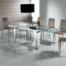 expandable glass dining room tables round extendable dining table