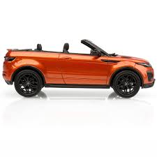 orange range rover land rover range rover evoque convertible 1 43 scale model
