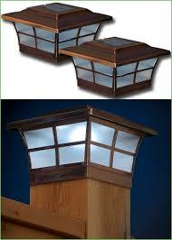 lighting solar fence post cap lights 5x5 solar post cap lights