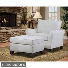 Living Room Chair And Ottoman by Chair U0026 Ottoman Sets Living Room Chairs Shop The Best Deals For