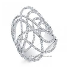 diamond cocktail rings style laced diamond cocktail ring