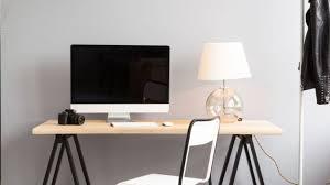 bureau ordinateur bois bureau informatique votre espace de travail westwing