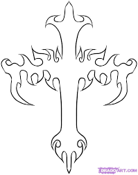 how to draw a tattoo iron cross iron cross tattoo step by step