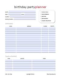 Dinner Party Agenda - 11 free printable party planner checklists tip junkie