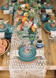 table setting stunning summer table setting ideas