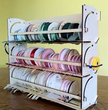 Desk Wall Organizer by Holder Storage Rack Organizer 110 Spools Stackable Desk Wall Mount