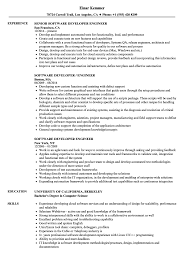 software developer resume software developer engineer resume sles velvet