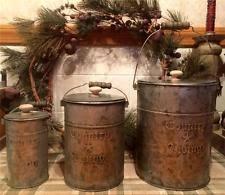 primitive kitchen canister sets primitive canisters ebay