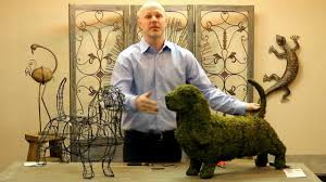 Garden Topiary Wire Forms Faq Assembling Your Topiary Youtube