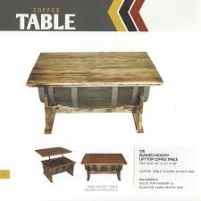 Hickory Table Top Amish Barrel Furniture A Wonderful Selection Of Items Made From