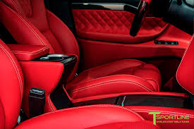 pink bentley interior black tesla model x custom bentley red interior u2013 tsportline com