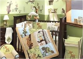 Baby Boy Nursery Bedding Set Baby Monkey Crib Bedding Sets Videozone Club