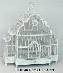 gabbie per antica soffitta gabbia per uccelli decorativa 60cm shabby chic
