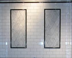 Double Vanity Mirrors For Bathroom by Bathroom Exciting White American Olean Tile Wall With Double