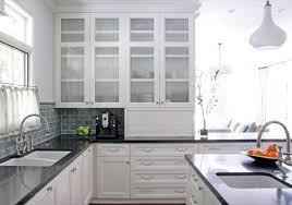 White Glass Cabinet Doors Brilliant White Glass Kitchen Cabinet Doors Beautiful In Prepare