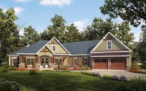 craftsman home plan house plan 58255 at familyhomeplans