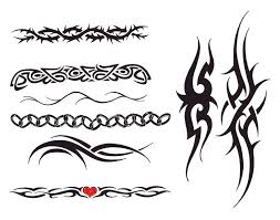 30 best tribal band tattoo stencil images on pinterest bracelet