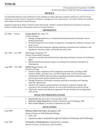 nuclear pharmacy resume http resumesdesign com nuclear