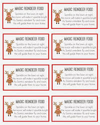 magic reindeer food magic reindeer food reindeer food and east
