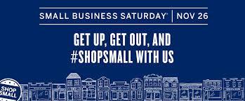 saturday november 26 is small business saturday on cape cod