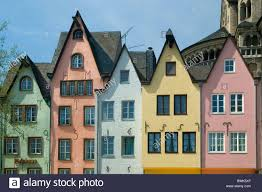 Euro House Cologne Martinswinkel Fish Market Old Town Facades Houses Homes