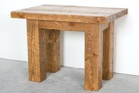 Plans To Make End Tables by Rustic X End Table My Husband Made These Rustic End Tables From A