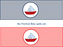 free printable nautical baby shower bottle label nautical baby