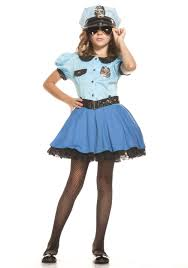 halloween costumes for kids girls police