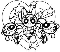 23 Best Powerpuff Girl Colouring Pages Images On Pinterest Power Puff Coloring Page