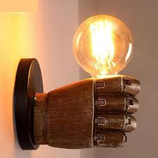 Industrial Wall Sconce Hallway Novelty Wall Fixtures L Post Modern Personality