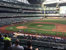Miller Park Seating Map Miller Park Section 213 Rateyourseats Com