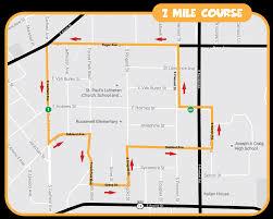 Janesville Wi Map Festival Foods Turkey Trot Race Locations