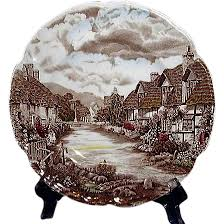 johnson brothers olde countryside dinner plate