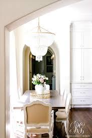 transitional kitchen nook remodel styled for spring