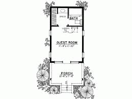 guest house floor plans eplans country house plan rustic cottage or guest house 242