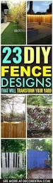 the 25 best fence design ideas on pinterest modern fence design