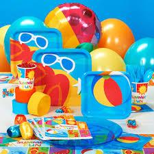 Pool Party Ideas Fun In The Sun Party Supplies Thirteen Pinterest Birthdays