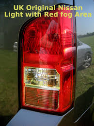 nissan car accessories uk rear light tail lamp for nissan pathfinder 05 new rh o s offside