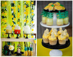 Paper Pineapple Decorations Party Like A Pineapple Drink Station Backdrop By Paperwhite