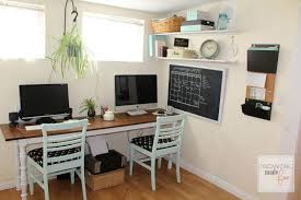 organized home adorable organized home office in a small rental home home office