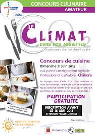 concours cuisine un concours de cuisine départemental à chabons commune d apprieu