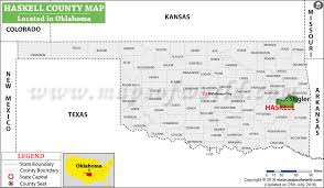 haskell map haskell county map oklahoma