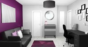 chambre violet et déco chambre violet gris collection avec emejing peinture chambre
