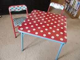 Folding Table And Chair Set For Toddlers Best 25 Card Table And Chairs Ideas On Pinterest Card Table