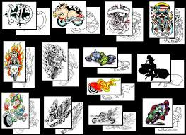 harley davidson motorcycle tattoos what do they mean harley