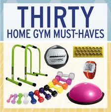 30 home gym must haves