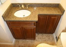 Vanities For Small Bathrooms Remarkable Glass Countertop Vanities Design For Small Bathroom