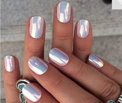 nail polish hippie rad holographic metallic nails nails nail