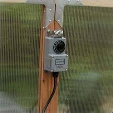 greenhouse thermostat fan control greenhouse supplies you ll love wayfair