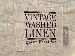 west end cottage linen bedding